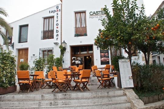 Spain altea costa blanca the spanish mediterranean olive oil and lemons - Pizzeria venecia marbella ...