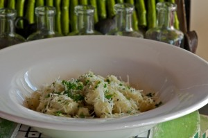 gnocchi with sage butter and parmesan