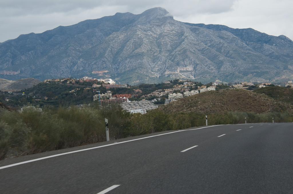 En route to Marbella