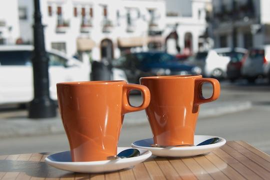 Coffee in Mijas