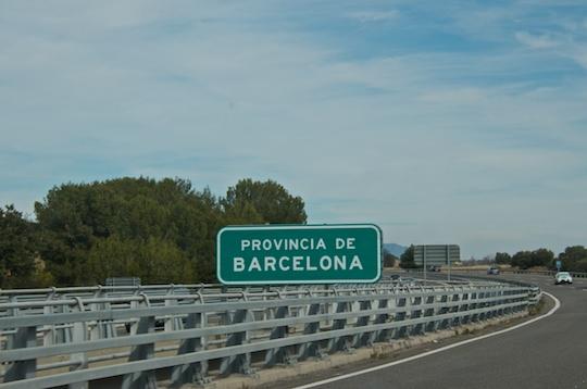 Entering Barcelona