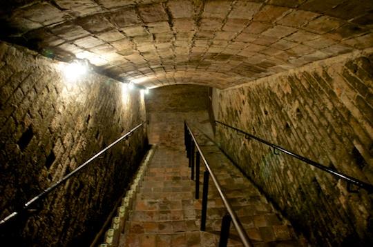 Going underground at Codorniu