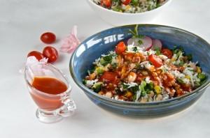 Easy rice and veggies