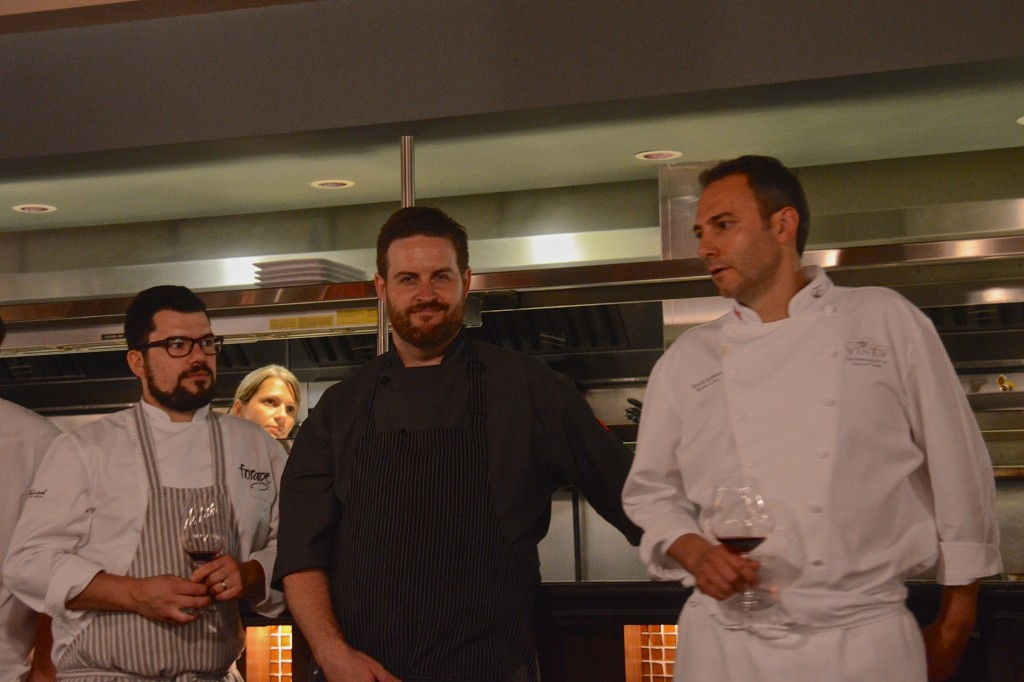Chef Chris Whittaker, Forage, Vancouver, Chef andrew Winfield, River Cafe, calgary, chef Roger Sleiman, Old Vines Restaurant, West Kelowna