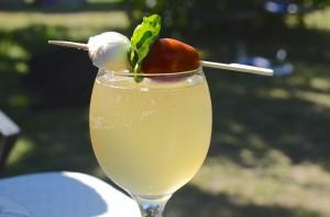 Iced lemon water at Sunshine Farm