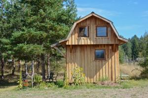 Anna's cabin on the farm