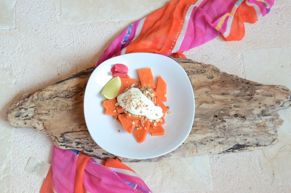Mexican fruit and quick granola