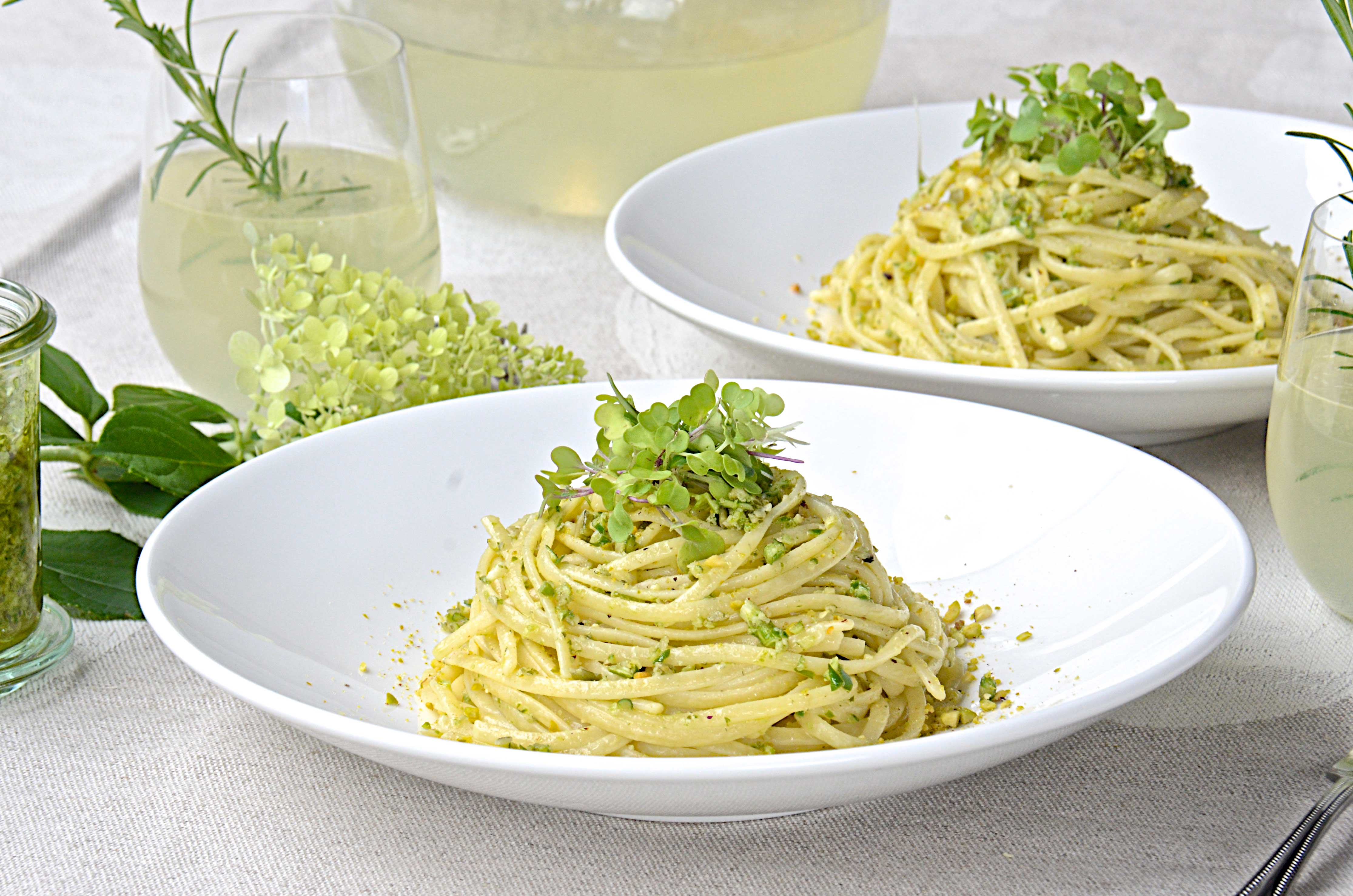 Garlic scapes and pasta recipes
