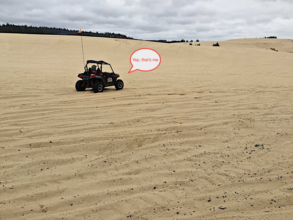 Dune buggy'ing on the Oregon dunes