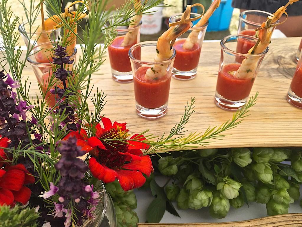 Mona's Fiery Gazpacho at Sunshine Farm Tomato Festival