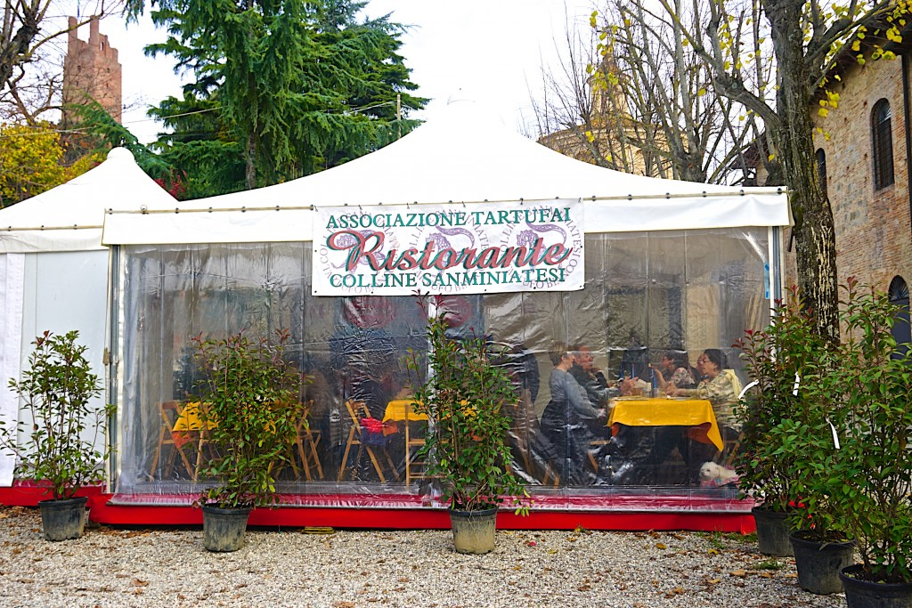 The restaurant of the San miniato Truffle Association