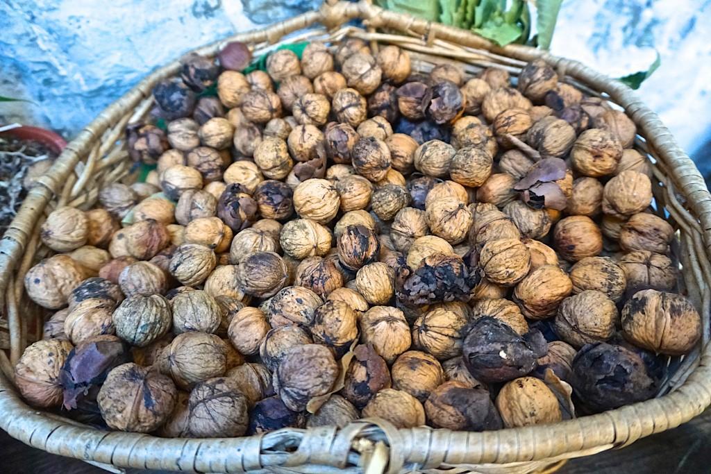 Walnuts at Casa Turcheti
