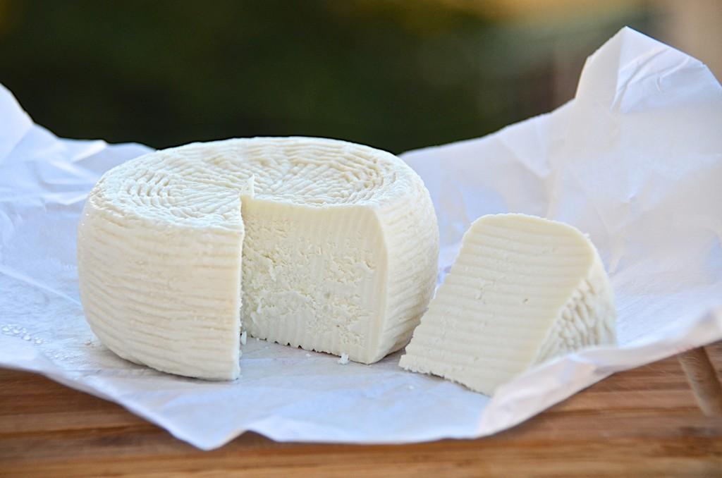 Claudia's fresh goat cheese