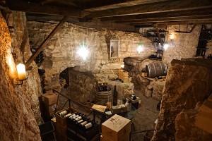 Wine cellar at the Adler