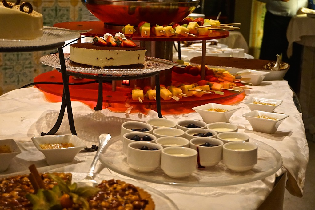 Dessert buffet at the Adler thermae Spa, all made in-house