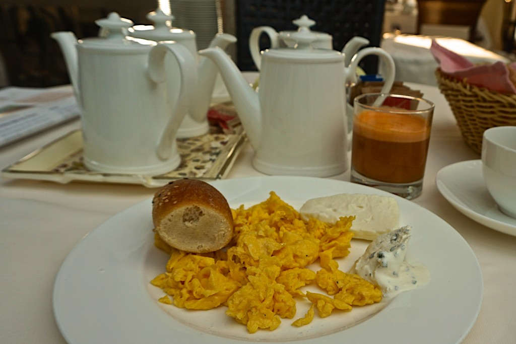 Breakfast at the Adler Thermae spa