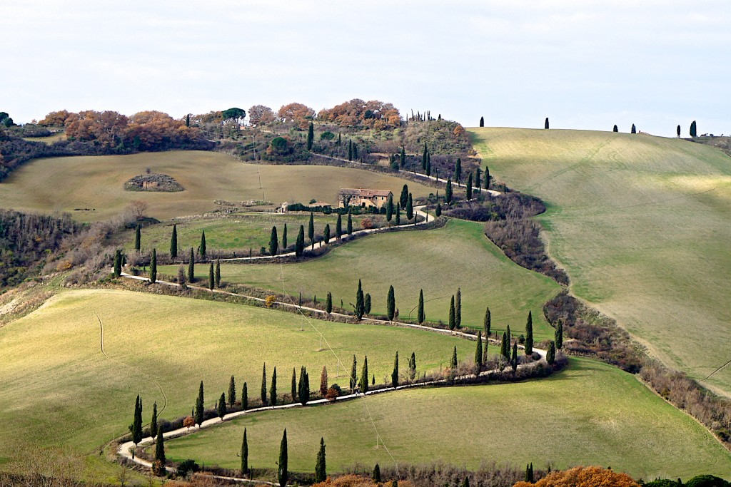 The beauty of Val d'Orcia, Tuscany