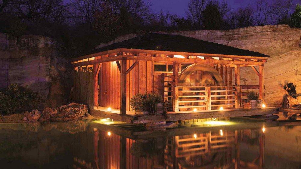 Dry Sauna at the Adler Thermae spa