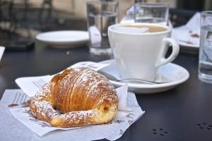 Cappuccino and Cornetto