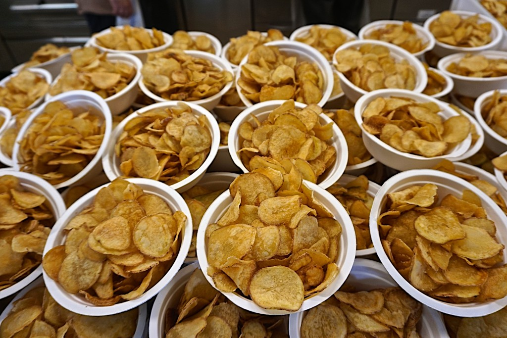 Potato chips, but home made