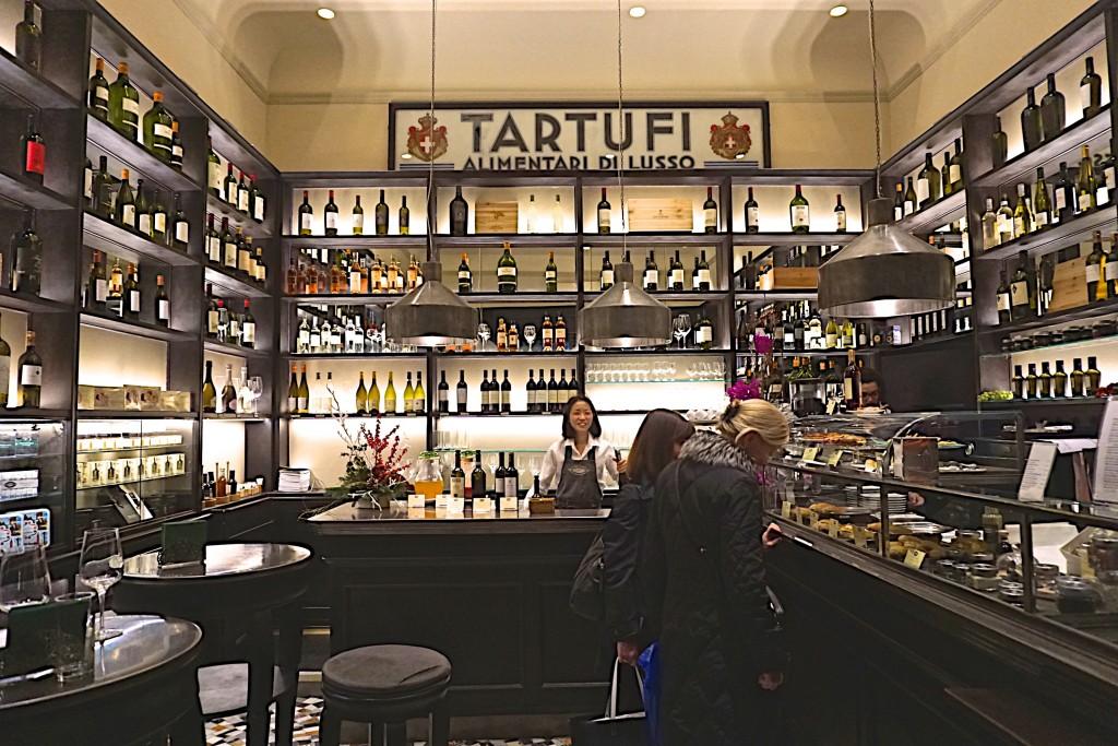 Procacci truffle and wine bar, Florence