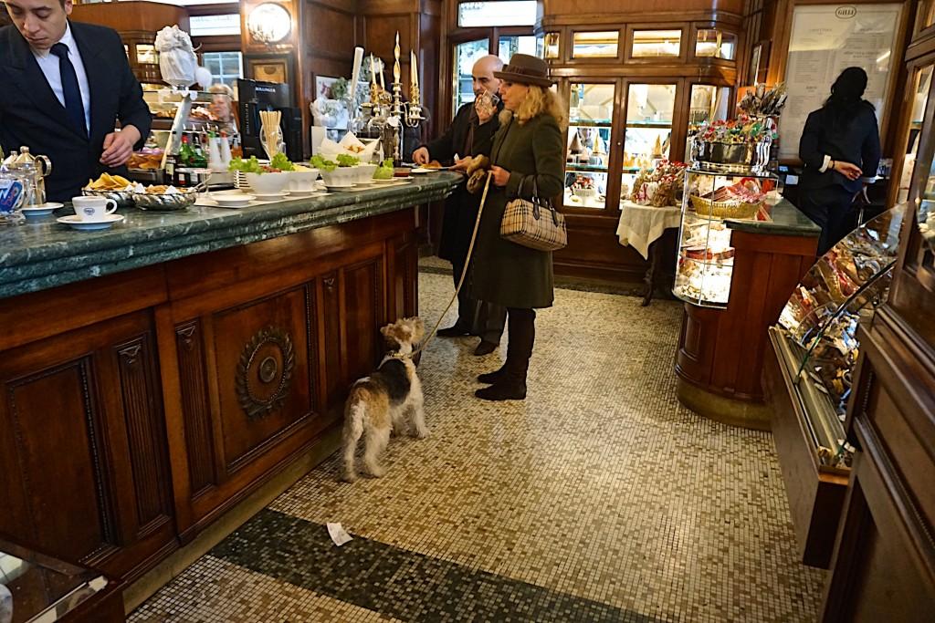 Aperitivo at Cafe Gilli, Florence