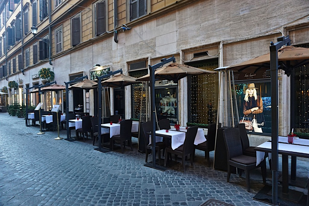 Rome, Spanish Steps side street