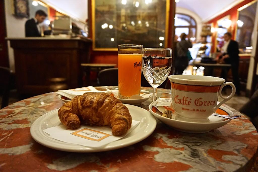 Antico Cafe Greco, Via Condotti, Rome