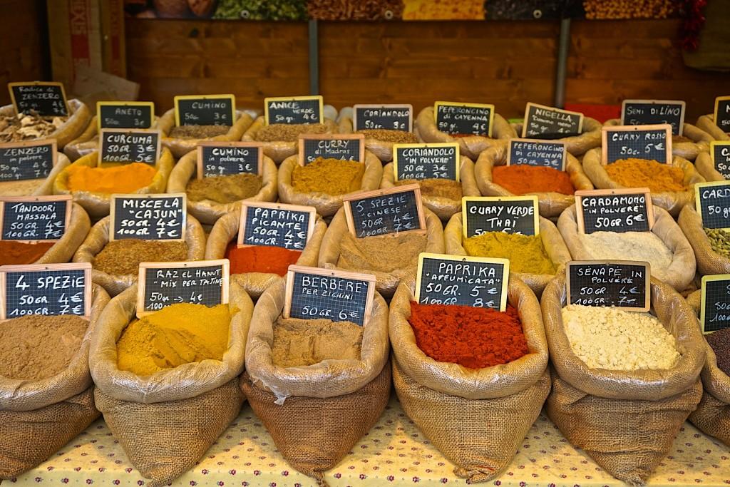 Spices at Mercato Sant' Ambrogio