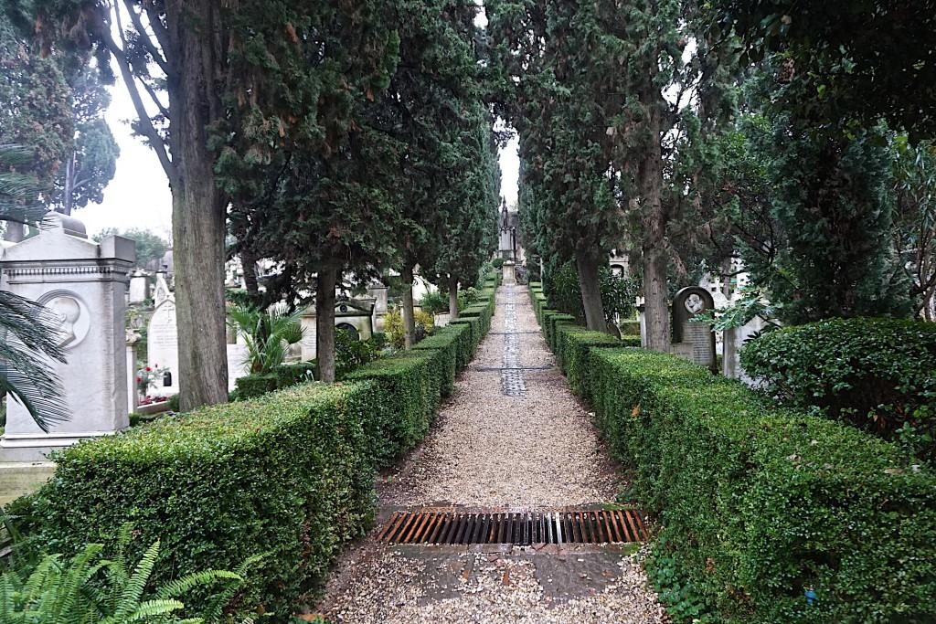 Non-Catholic Cemetery in Testaccio