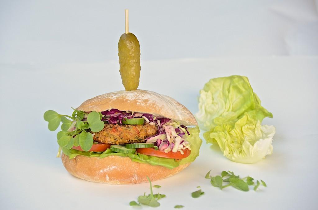 Two bean burgers (Vegan)