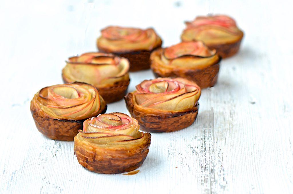 Individual apple pie roses recipe
