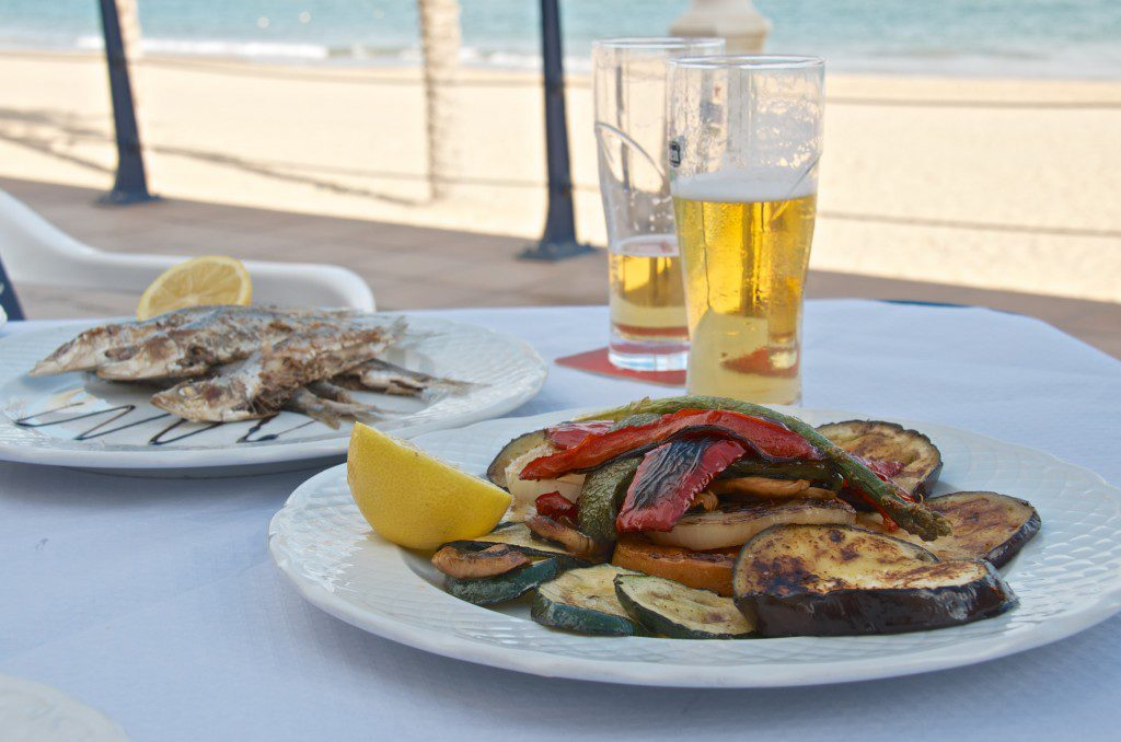 Lunch in Alicante, Spain