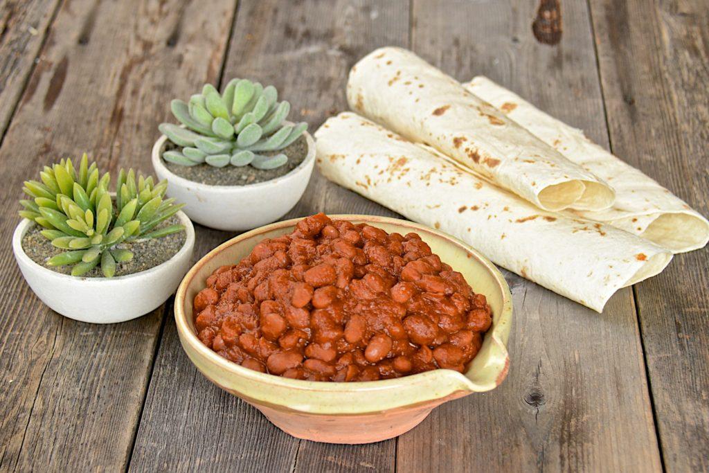 Beans for burritos