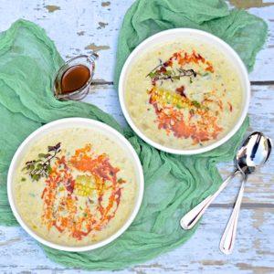 Corn and potato soup