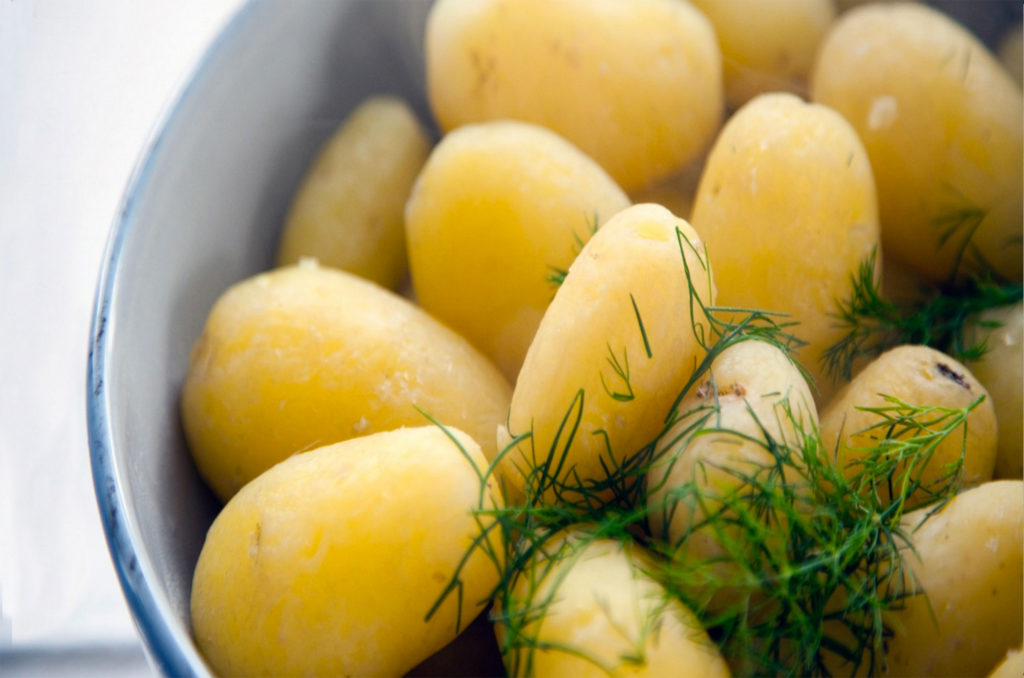 Finnish new potatoes