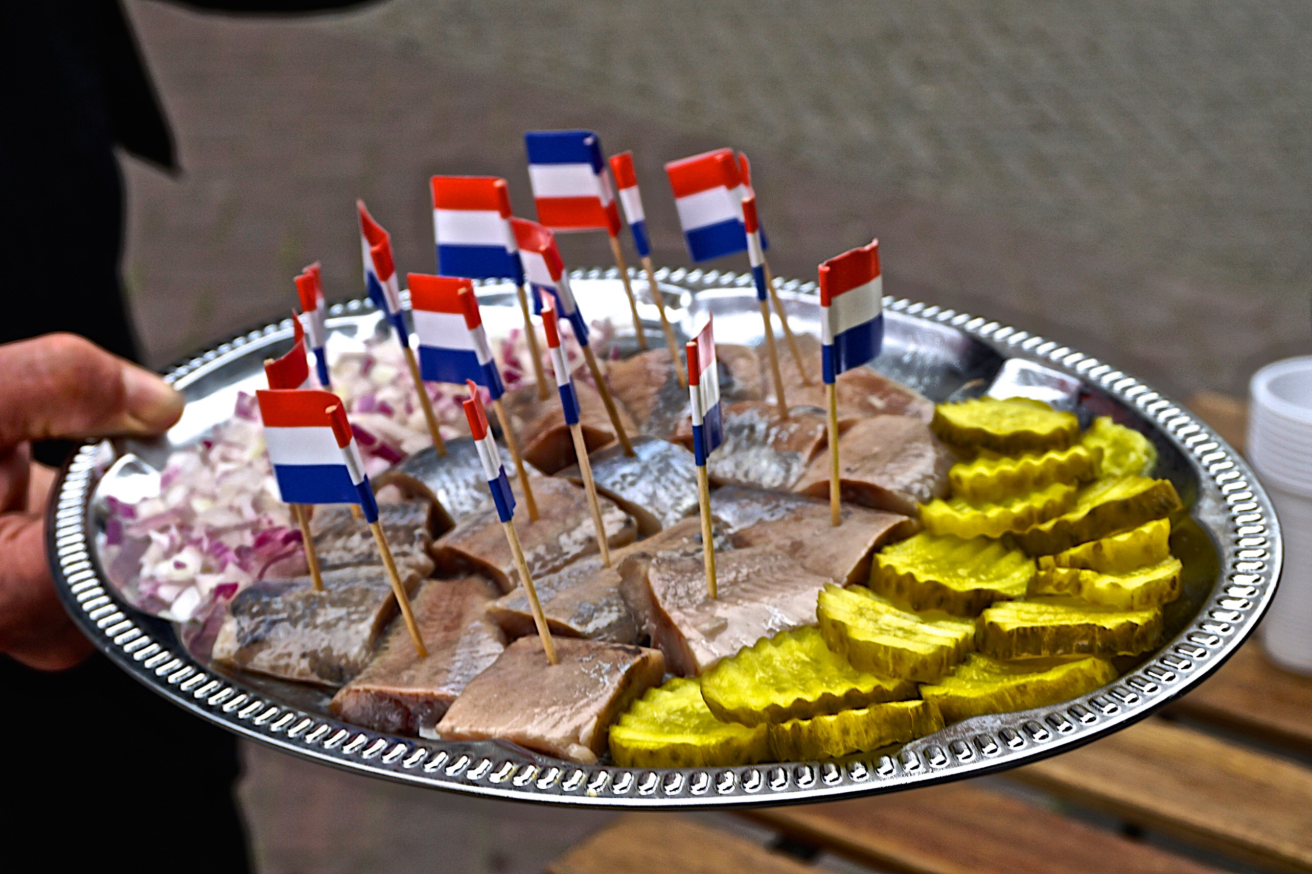 Herrings at Urkel Viswinkel, Jordaan, Amsterdam