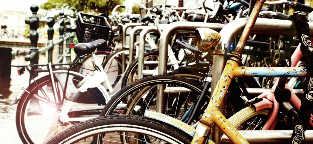 Amsterdam mode of transportation - bikes