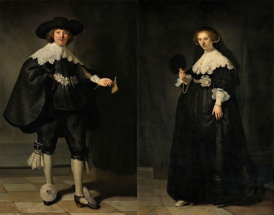 Rembrandt's Marten and Oopjen