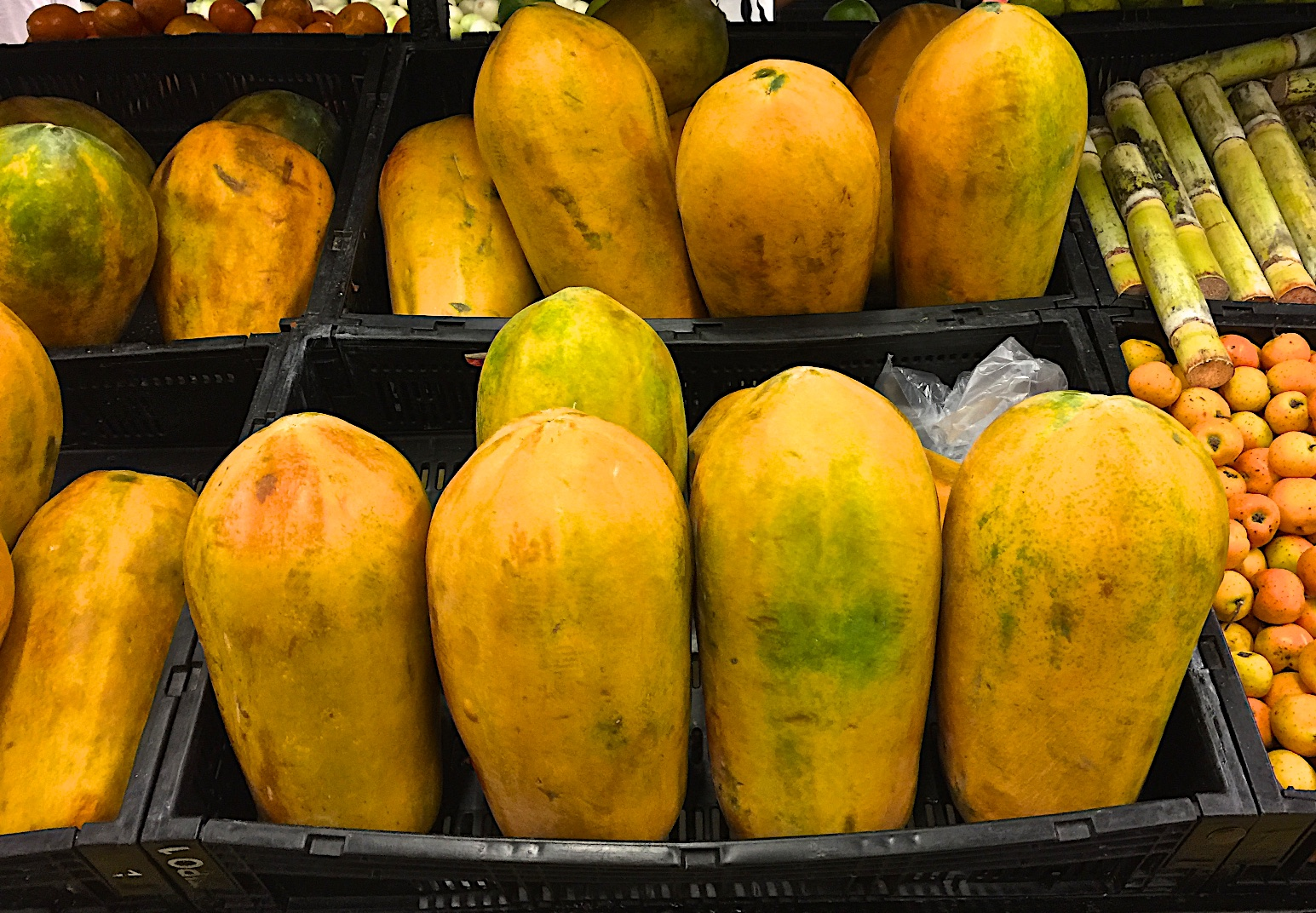 Mexican papayas