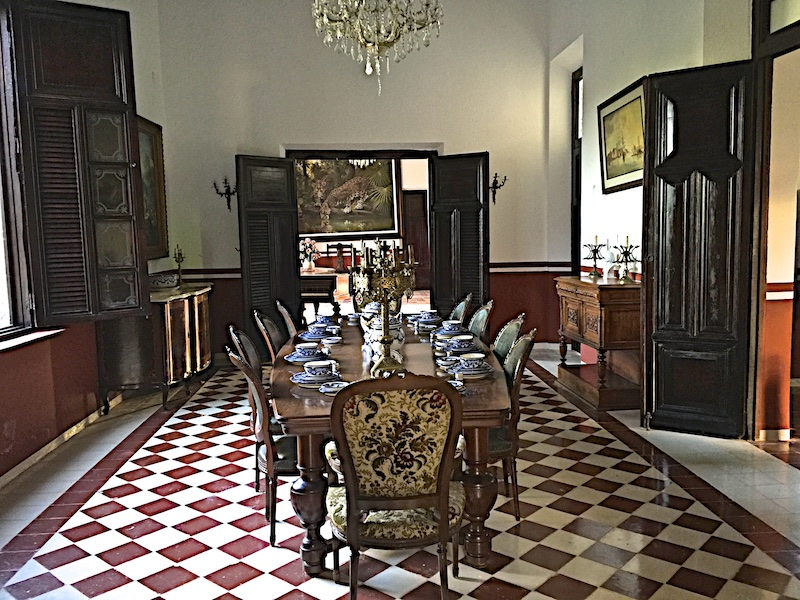 Dining room (display only) at Hacienda Kaan Ac