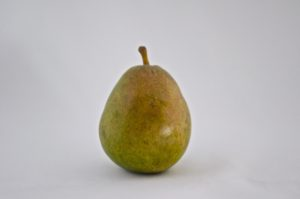 Green bartlet pear
