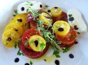 Yellow & Red Tomato Salad