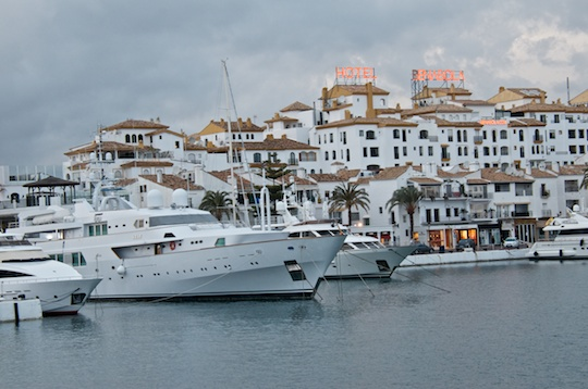 Luxury Yachts in Puerto Banus