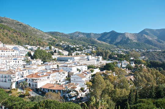 Mijas white village