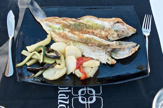 Malaga lunch