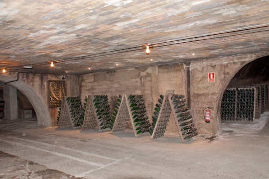 Going underground at Codorniu