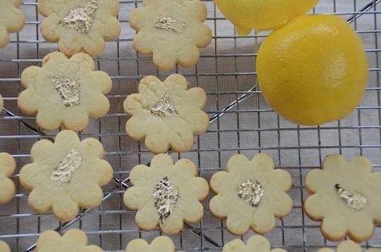 Lemon sablés