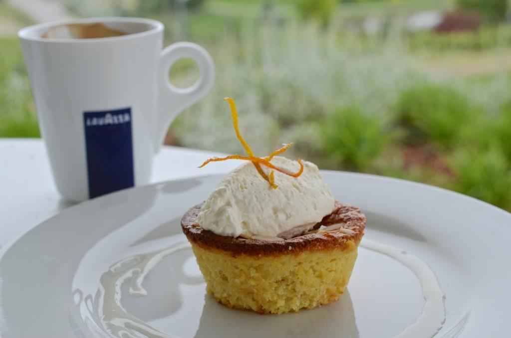 Orangeand almond cake, The Vanilla Pod, Poplar Grove