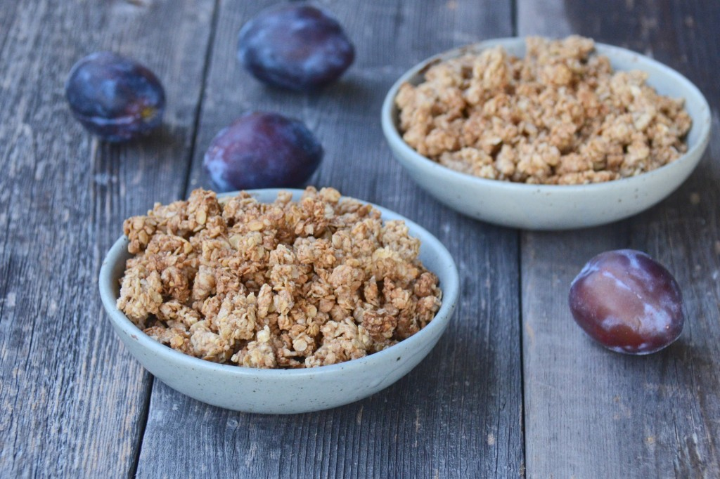 Vegan crisp topping